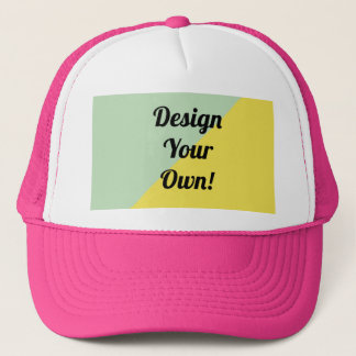 Design Your Personalise Gift Trucker Hat