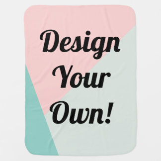 Design Your Personalised Custom Gift Receiving Blankets