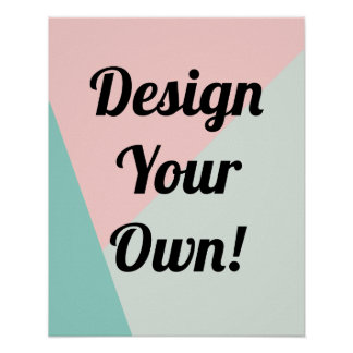Design Your Personalized Gifts Poster