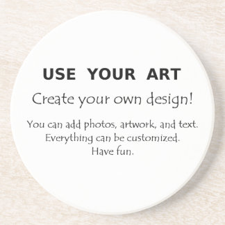 Design yourself coasters use your art photos