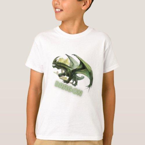 Design youth dragon T_Shirt
