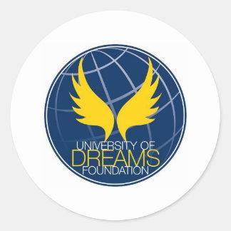 designall-1.dll classic round sticker