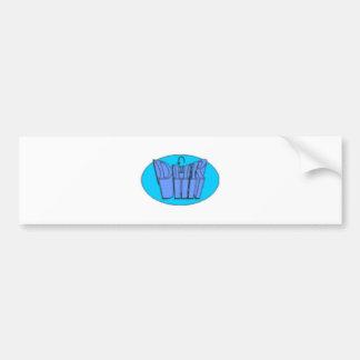 designall bumper sticker
