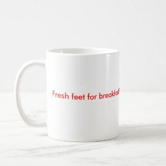designall.dll, Fresh feet for breakfast! Classic White Coffee Mug
