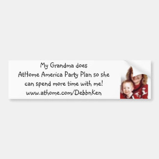 designall, My Grandma does AtHome America Party... Bumper Sticker