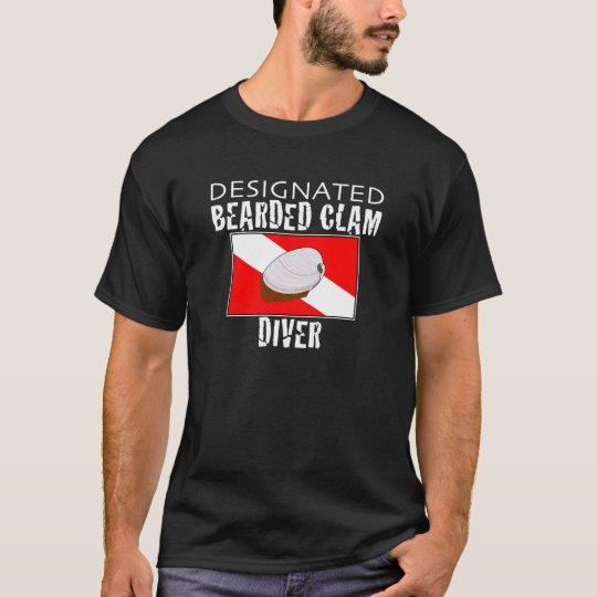 Designated Bearded Clam Diver T-Shirt
