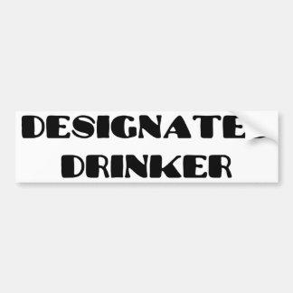 Designated Drinker Bumper Sticker
