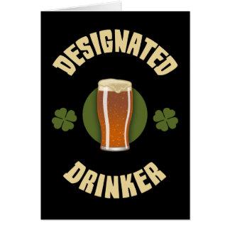 Designated Drinker Card