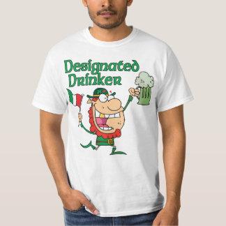 Designated Drinker Leprechaun T Shirt
