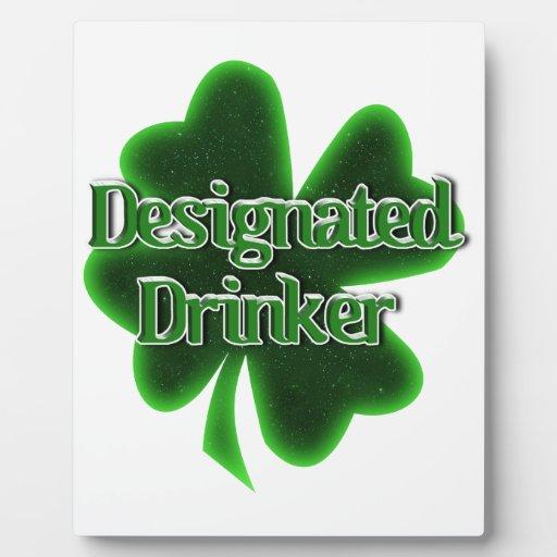 Designated Drinker Plaque