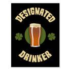 Designated Drinker Postcard