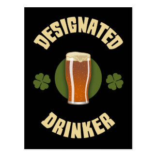 Designated Drinker Postcard