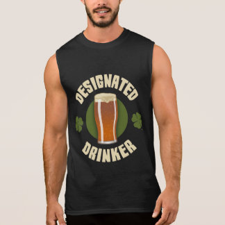 Designated Drinker Sleeveless Shirt