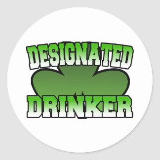 Designated Drinker Sticker