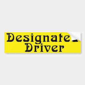 Designated Driver Bumper Sticker