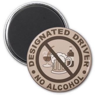 Designated Driver button 2 Inch Round Magnet