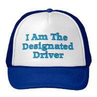 Designated Driver in Blue Hat Trucker Hat