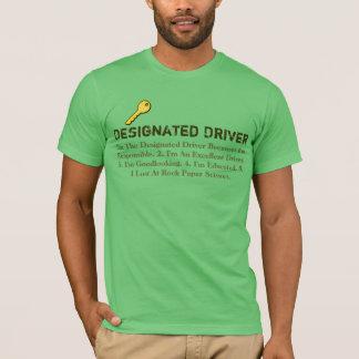 Designated Driver Lost Rock Paper Scissors T-shirt