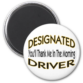 Designated Driver Refrigerator Magnets