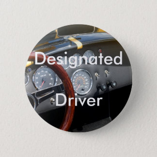 Designated Driver Pinback Button