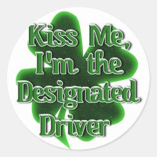 Designated Driver Stickers