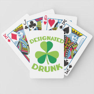 Designated DRUNK Bicycle Playing Cards