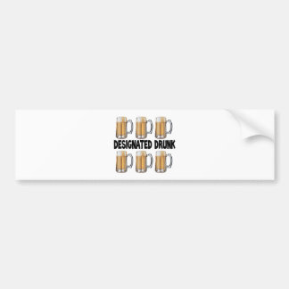 Designated Drunk Bumper Sticker