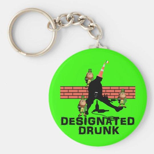Designated drunk keychain
