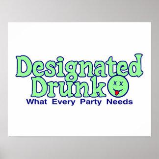 Designated Drunk Poster