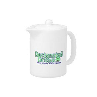 Designated Drunk Teapot