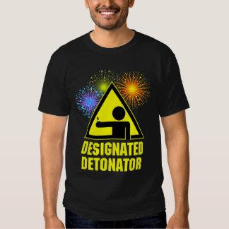 Designated Fireworks Detonator Shirt