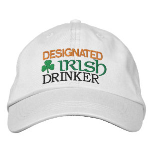 Designated Irish Drinker Embroidered Baseball Hat 9392c7e29dcc