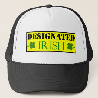 Designated Irish Trucker Hat