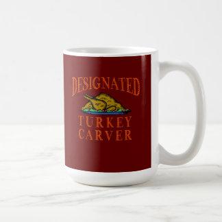 Designated Turkey Carver Thanksgiving Coffee Mug
