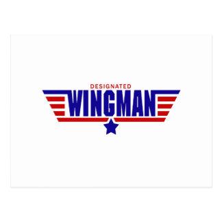 Designated Wingman Postcard