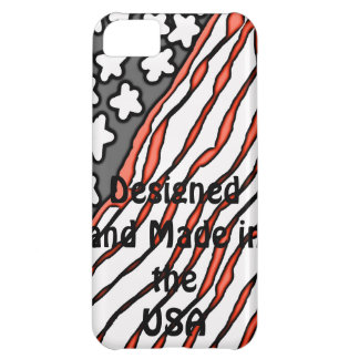 Designed and Made in the USA iPhone 5C Case