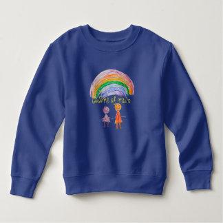 Designed by a Kid Colors of Rain Fleece Sweatshirt