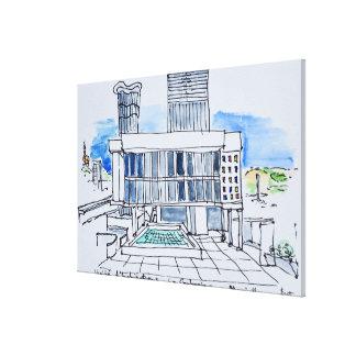 Designed by Le Corbusier | Marseille, France Canvas Print