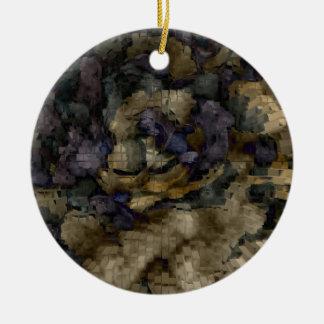 Designed Explosion #10 Ceramic Ornament