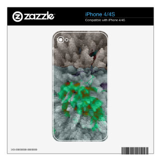 Designed Explosion #13 iPhone 4 Decal