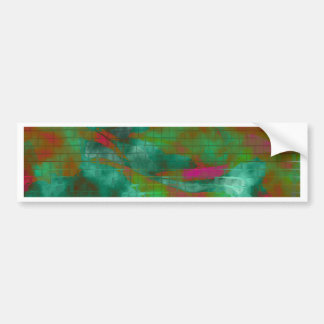 Designed Explosion #5 Bumper Sticker
