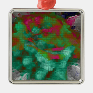 Designed Explosion #5 Metal Ornament