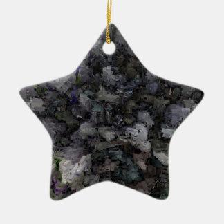 Designed Explosion #7 Ceramic Ornament