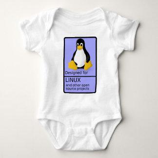 Designed for Linux Baby Bodysuit