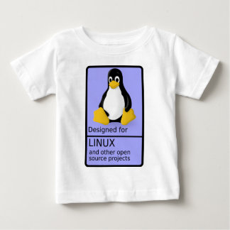 Designed for Linux Baby T-Shirt