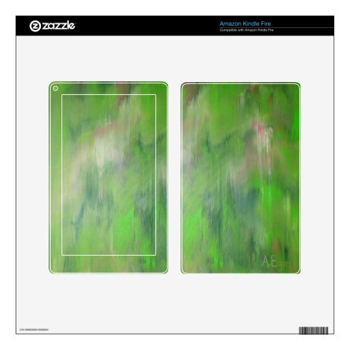 """Designed from the original painting """"Road Trip"""" Skin For Kindle Fire"""