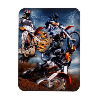 Designed motocross magnet