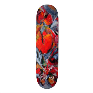 designed skate board by Art PeLari