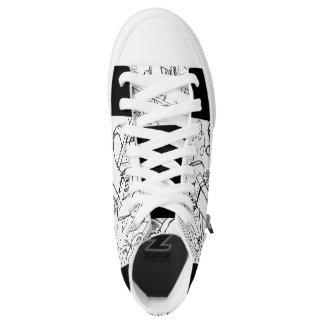 designer b 'n w sneakers by DAL