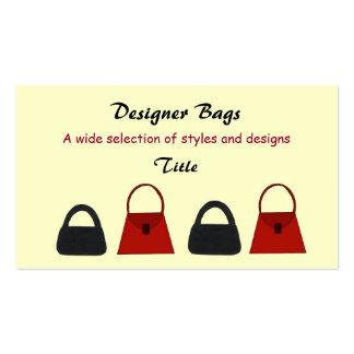 Designer Bags Business Business Card